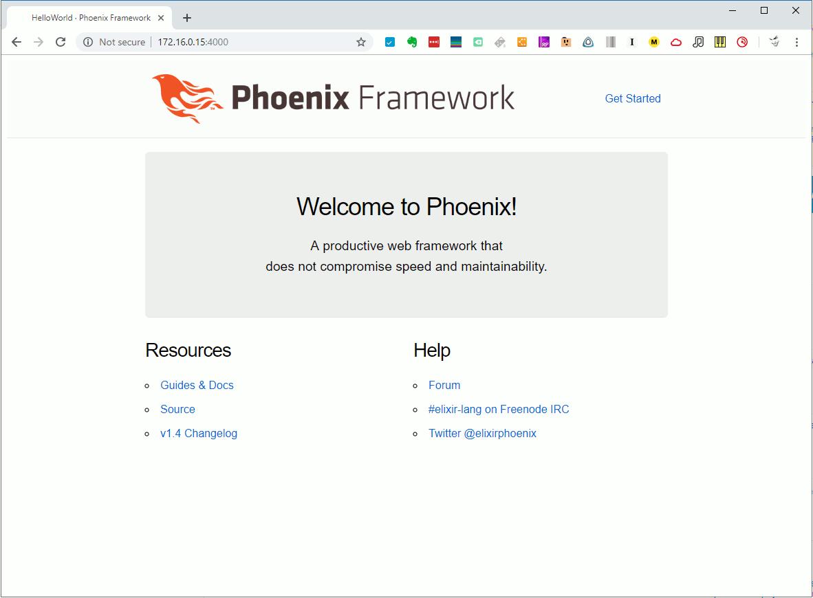 Phoenix Fresh Start Page
