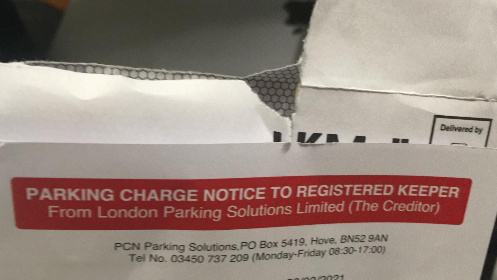 Парковачная мафия в Лондоне