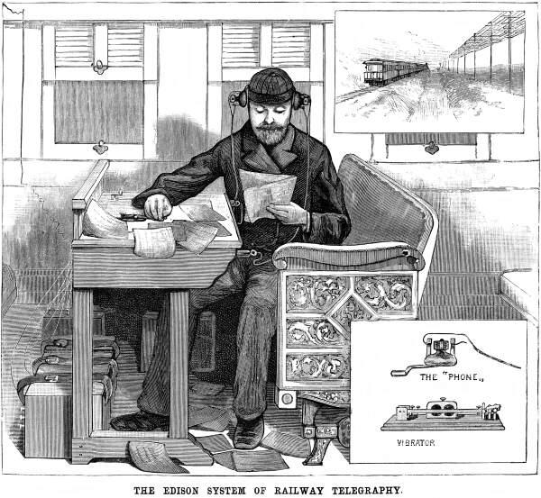 Как Эдисон изобрёл беспроводную связь и ничего в ней не понял