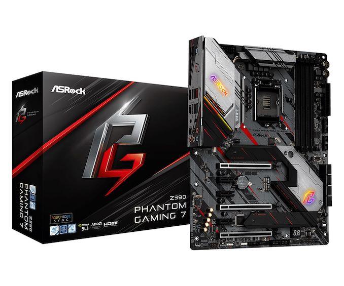 [Перевод] Обзор материнской платы ASRock Z390 Phantom Gaming 7: подготовка к 9900KS
