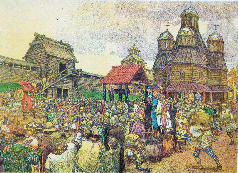 Pskov's veche