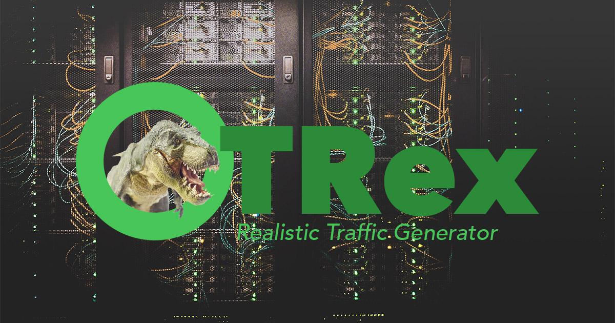 Генератор трафика Cisco TRex запускаем нагрузочное тестирование сетевых устройств