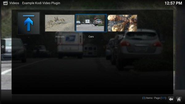 Перевод - recovery mode  Как написать видео плагин для Kodi