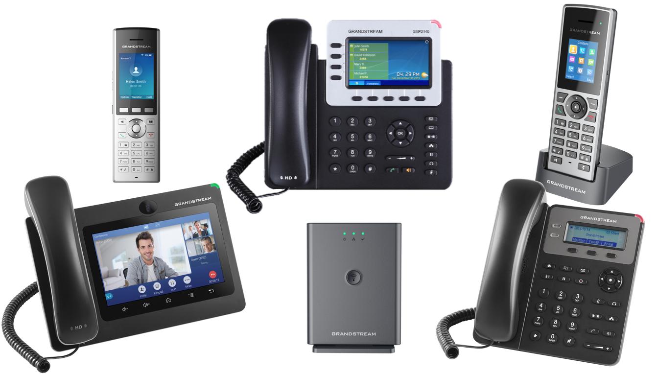 Как выбрать SIP-телефон Grandstream — в общем и в частности?
