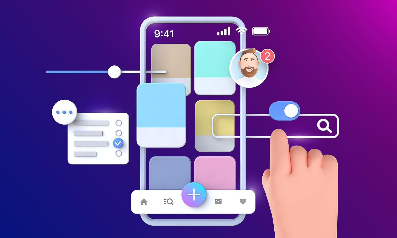 UI элементы и жесты в мобильных приложениях