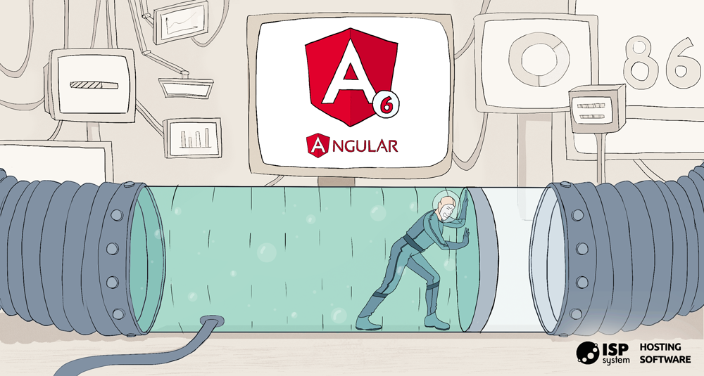 Update Angular to the 6th version in the project without using CLI