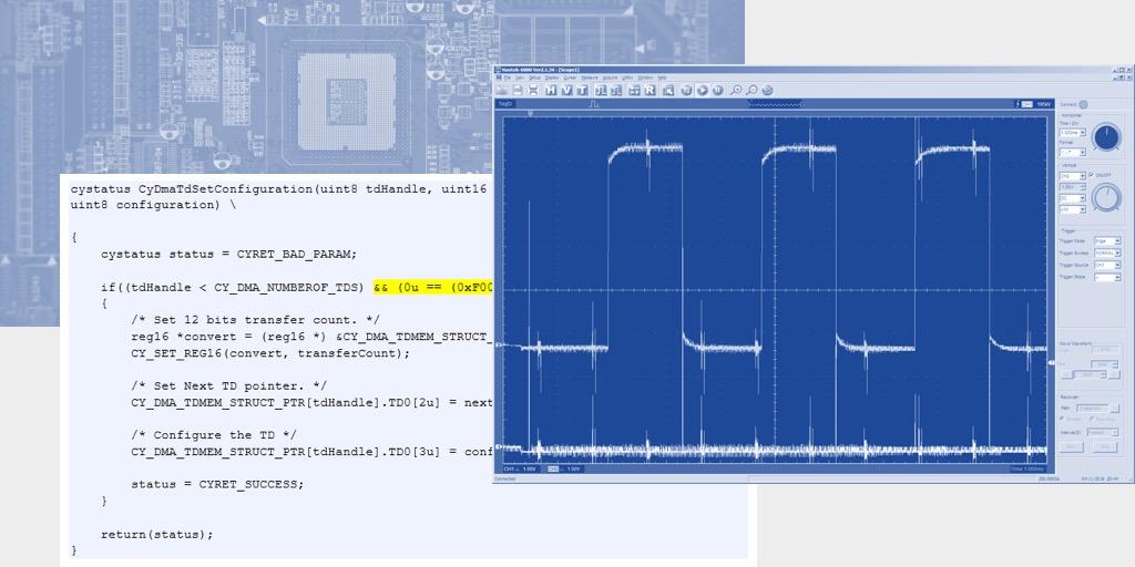 Часть 2: Использование блоков UDB контроллеров PSoC фирмы Cypress для уменьшения числа прерываний в 3D-принтере