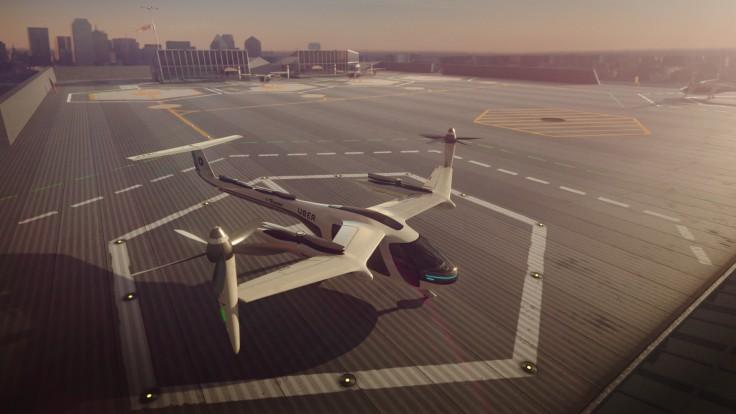 Uber и НАСА разработают софт для летающего такси