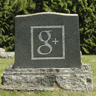 Google+. Sic transit gloria mundi…