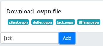 SSHeller OpenVPN ovpn files