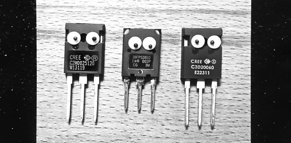 Эксперименты с карбидом кремния (SiC) замедление переключения SiC-MOSFET