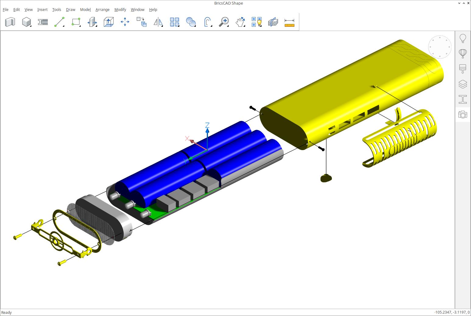 BricsCAD Shape - free 3D CAD from Bricsys