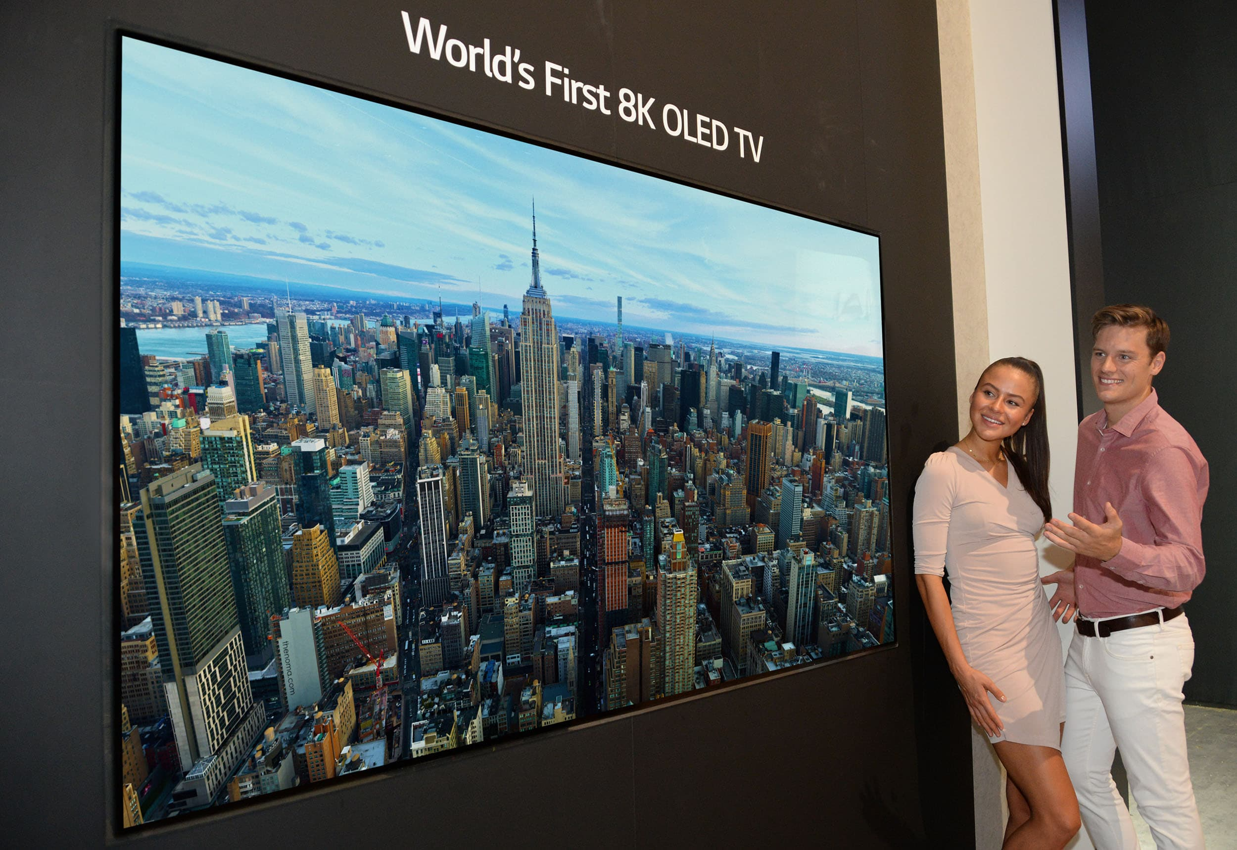 LG's 8K OLED TVs are waiting for June 201? maybe the release will be delayed
