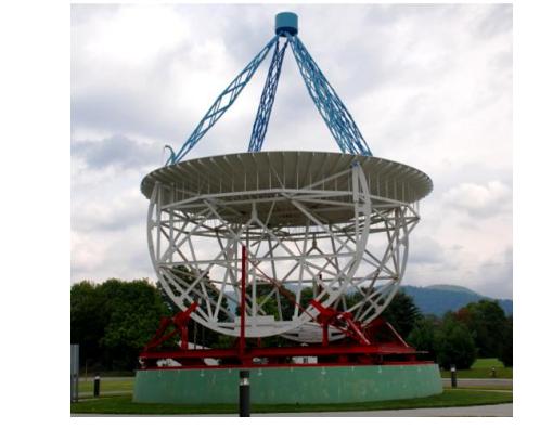 Математическая модель радиотелескопа со сверхдлинной базой