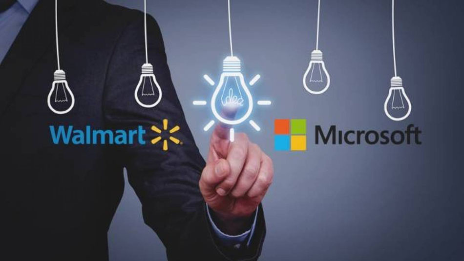 Walmart и Microsoft объединяются для борьбы с Amazon