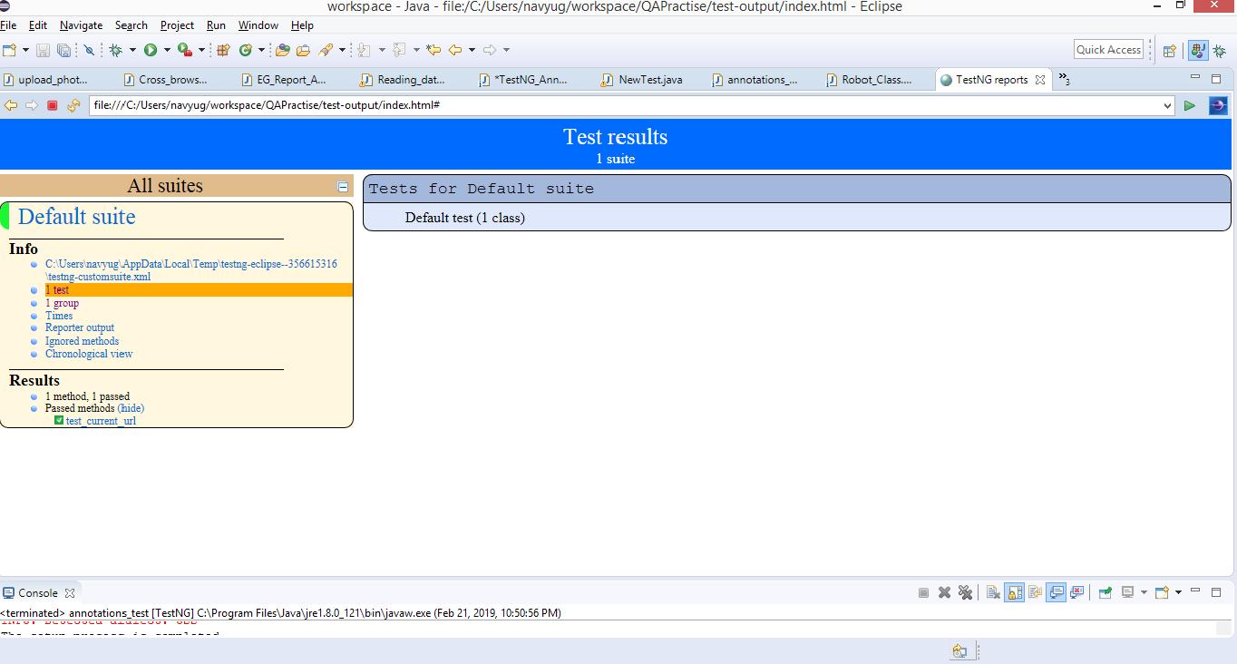 Руководство по аннотациям TestNG для Selenium WebDriver