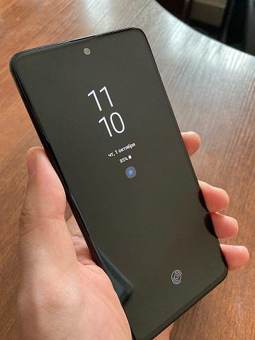 Использование Always on display как альтернатива светодиодному индикатору в телефонах Samsung