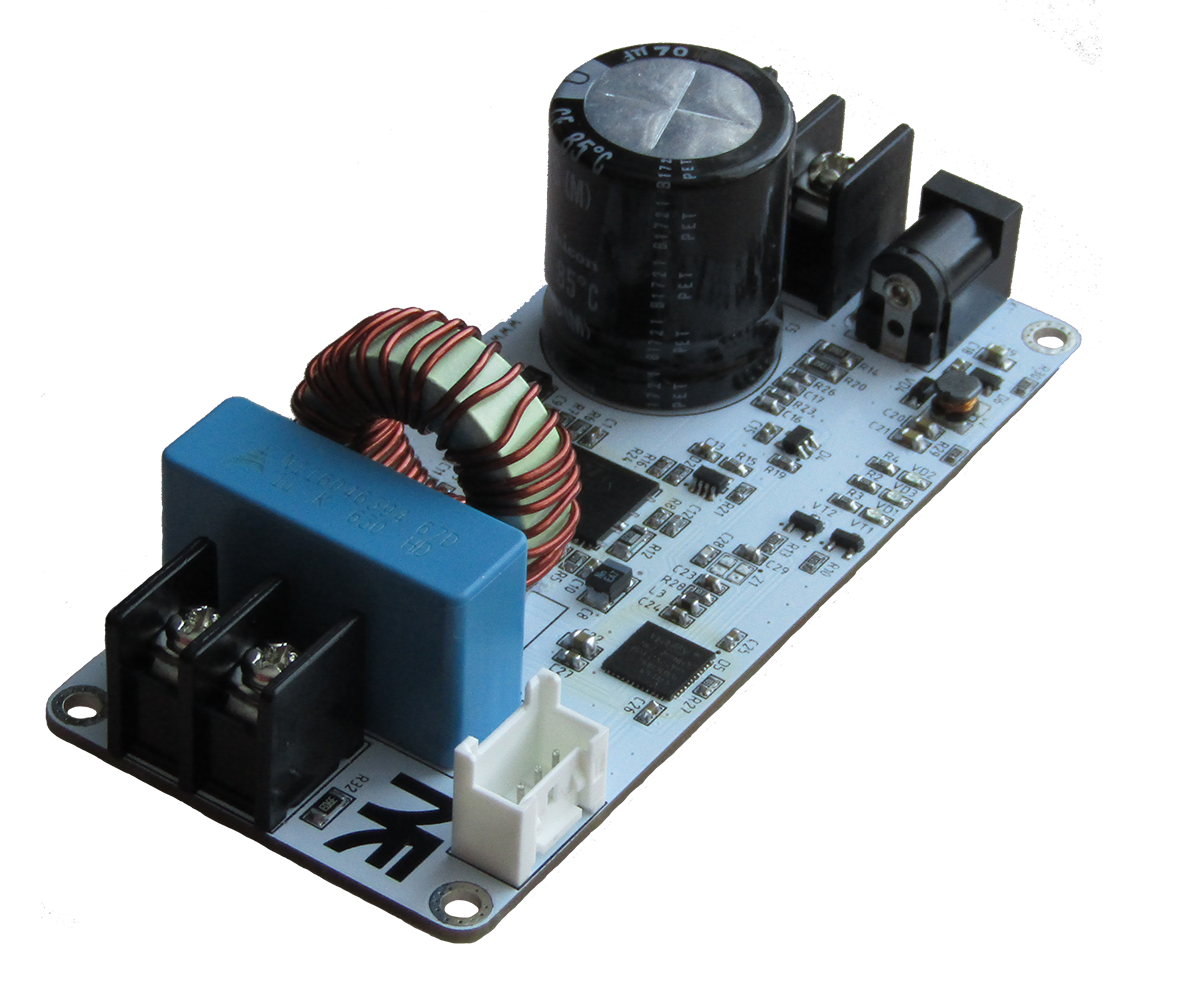 PWD13F60 + STM32F4: инвертор на 1 кВт в кармане