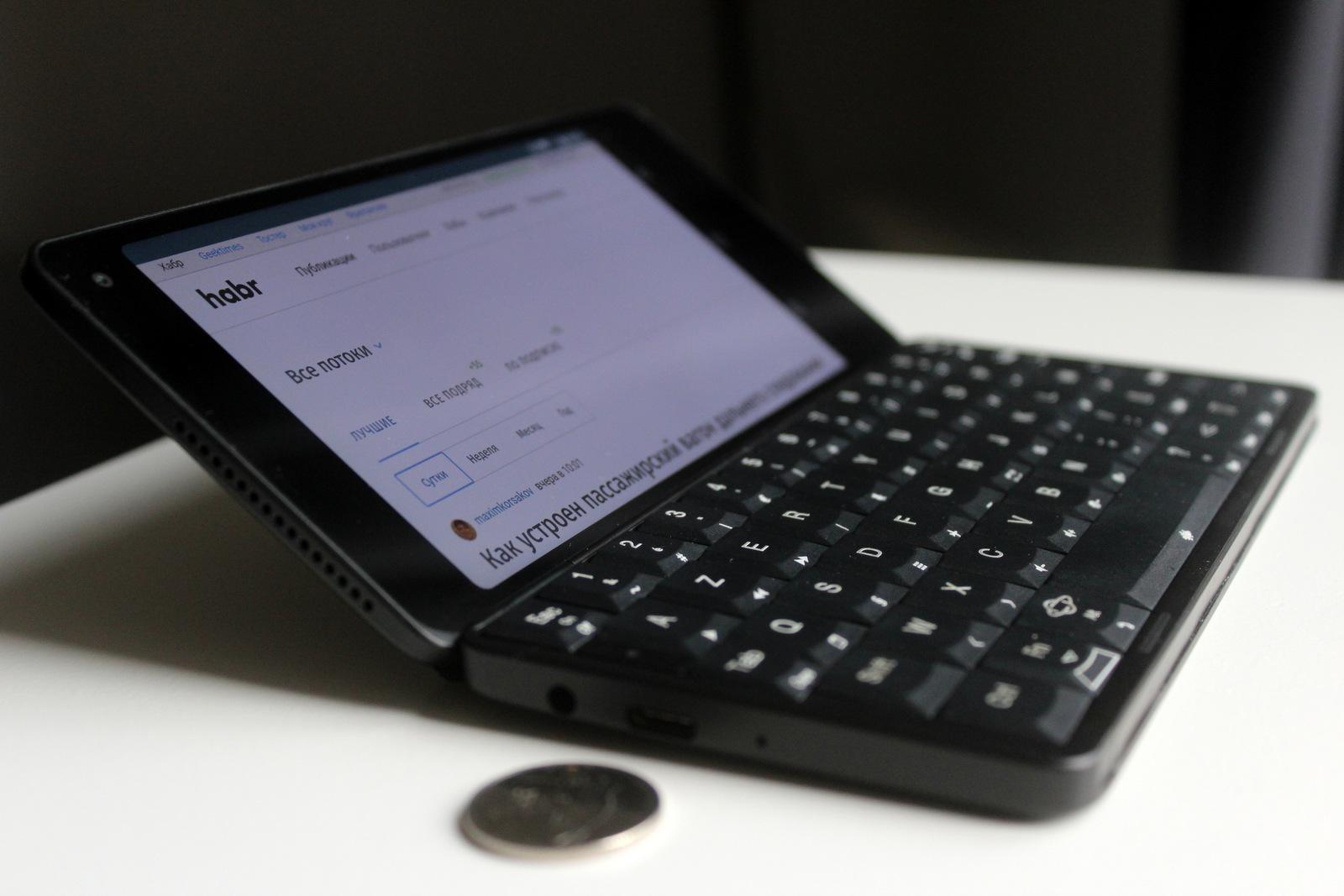 Впечатления от Gemini PDA. Карманный dual-boot комбайн или бесполезная игрушка?