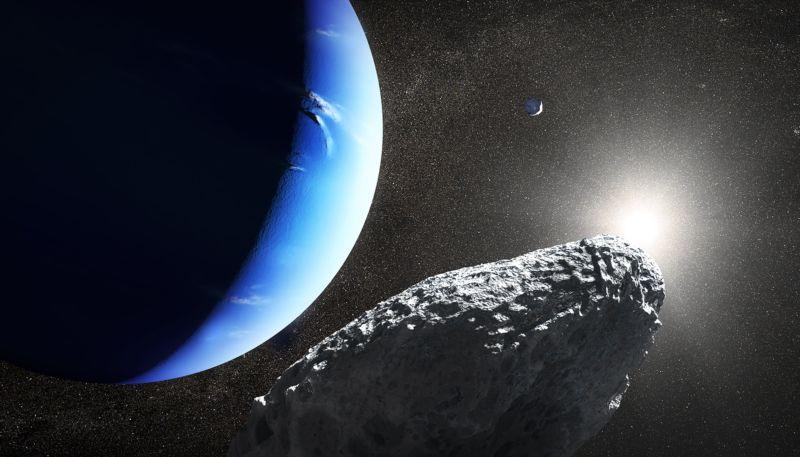 [Перевод] Изображения с Хаббла показали возрождённую луну Нептуна