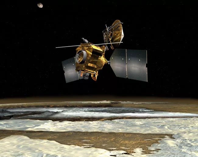 Перевод Искусственный интеллект помогает исследовать Марс