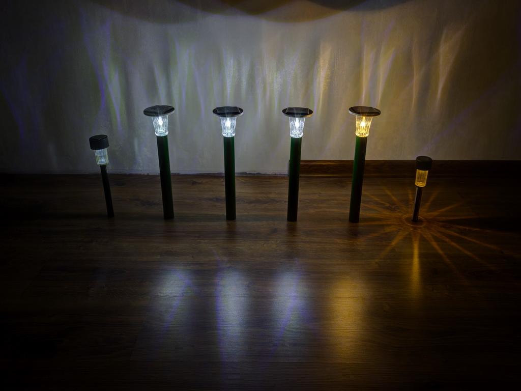 Схема прожектора с датчиком