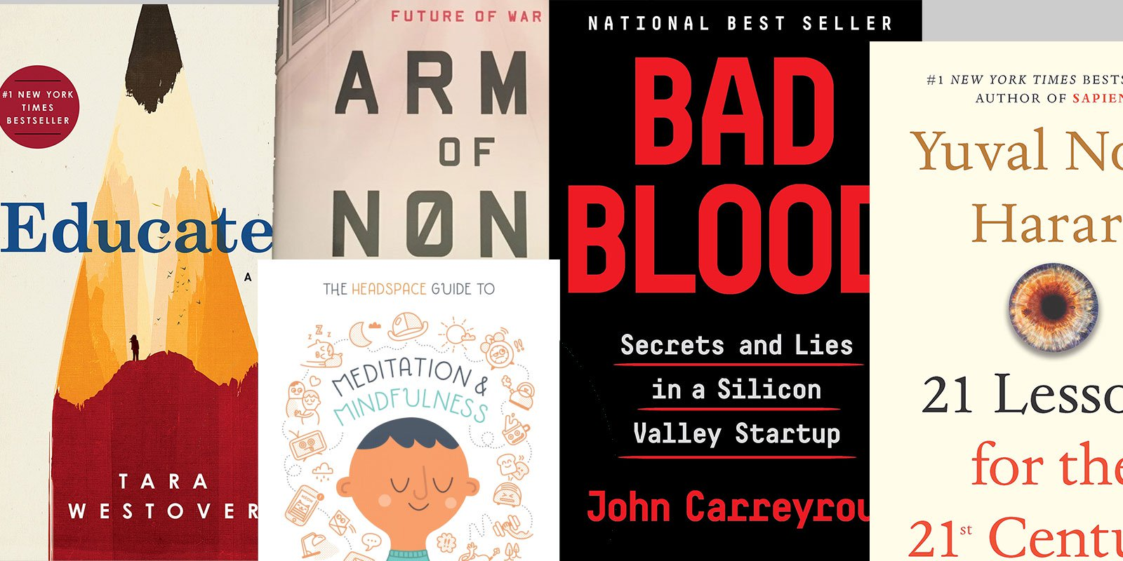 5 books that Bill Gates advises in 2018