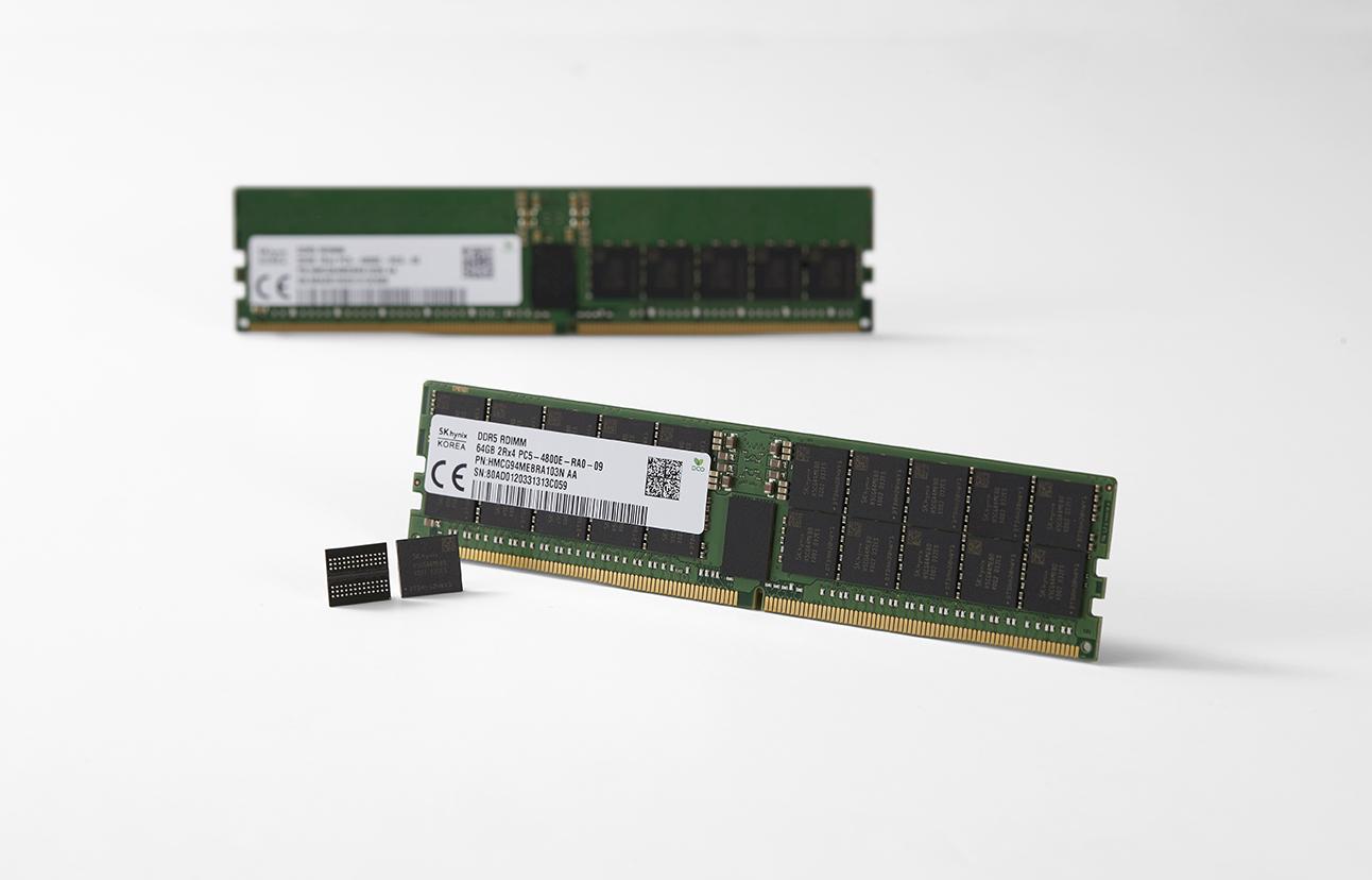 SK hynix представила первую в мире память DDR5 DRAM