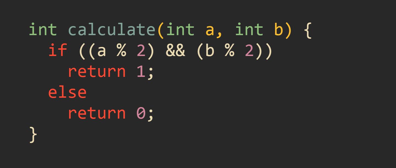 Вручную оптимизированная функция calculate()