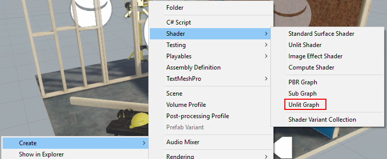 How to work with Shader Graph in Unity3D