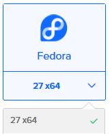 DigitalOcean Droplet Fedora