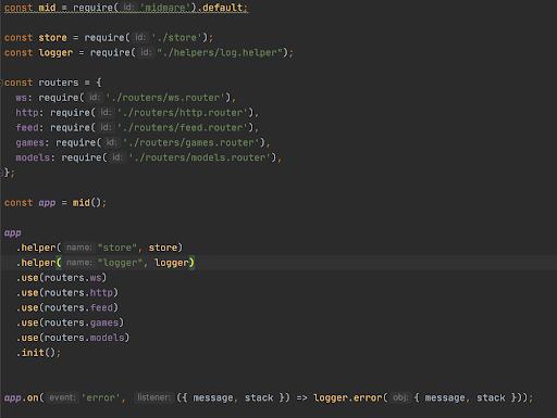 Midmare  свободный от HTTP-Layer модуль Node.js