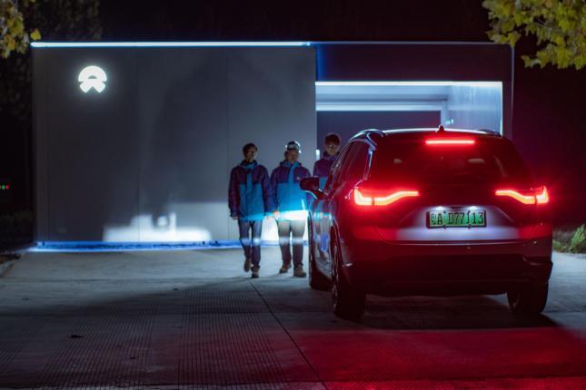 [Перевод] Компания Nio размещает 18 станций по смене аккумуляторных батарей покрывая более, чем 2000 км автомагистрали