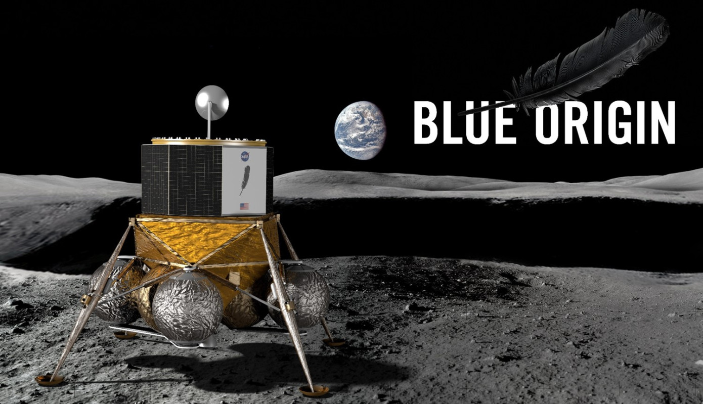 Jeff Bezos is going to build a colony on the surface of the Moon