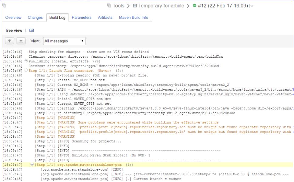 Интегрируем TeamCity с JIRA – без плагинов и администраторов / Блог