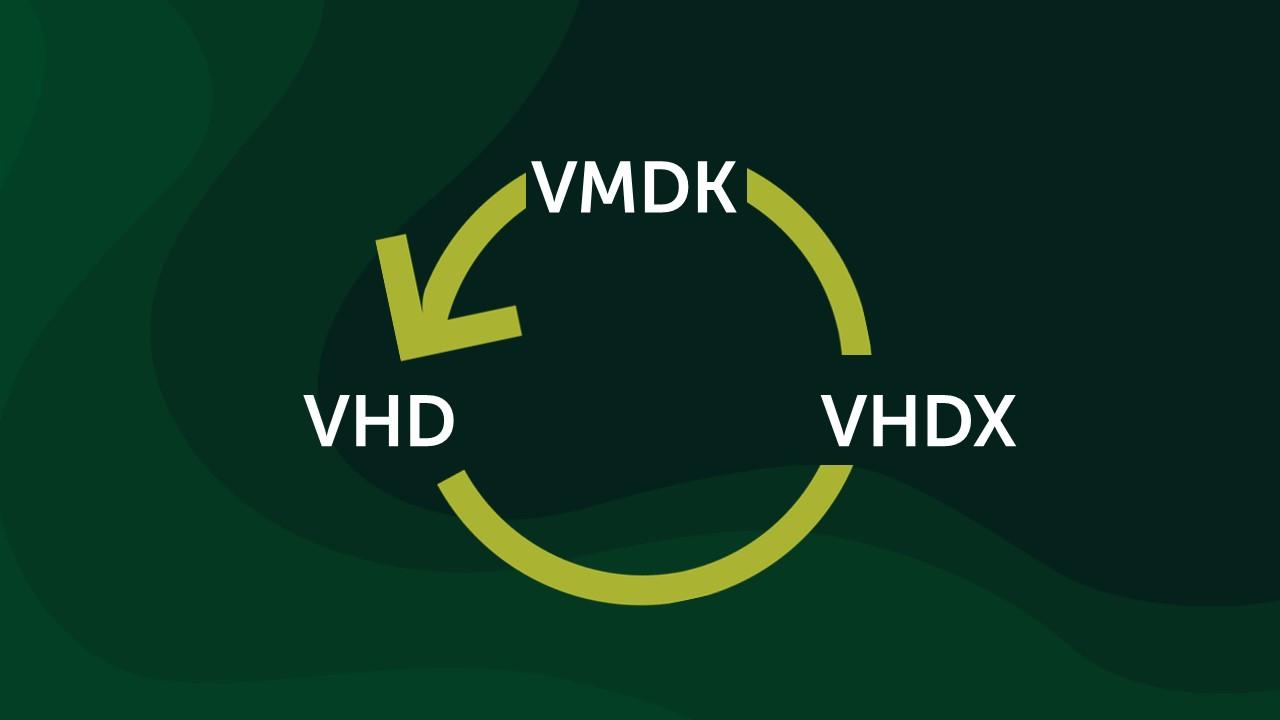 С Hyper-V на VMware и обратно: конвертация виртуальных дисков