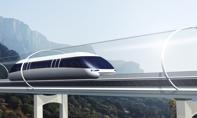 Транспорт майбутнього. гіперлуп
