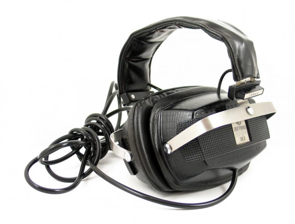 "Soviet HI-FI and its creators: headphones for one plate or forgotten history Electronics TDK-3 ""KVADRA"""
