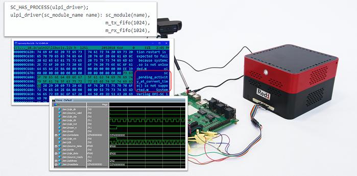 Моделирование прошивки в среде ModelSim с использованием моделей на языке SystemC