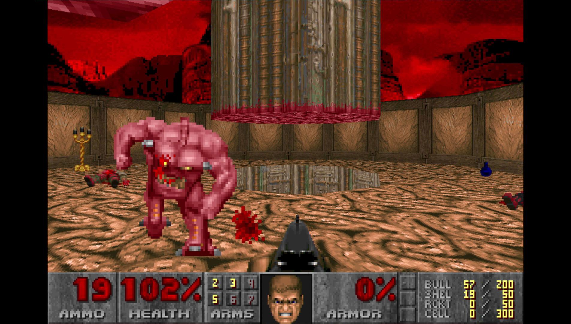 Скриншот из Doom
