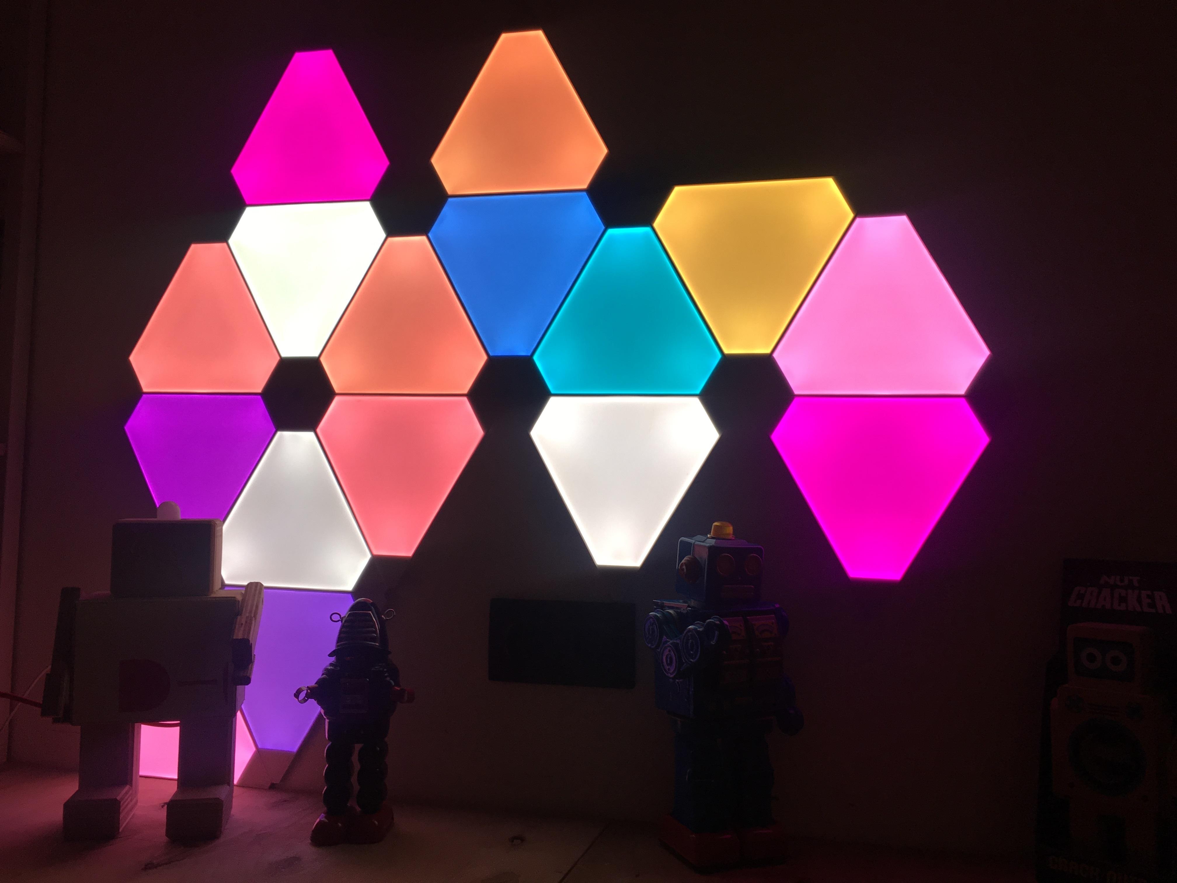 Nanoleaf Aurora Smart Lighting System
