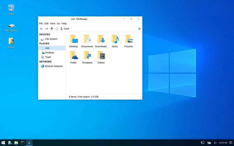 Kali Linux получила режим визуальной мимикрии под Windows и другие особенности версии 2019.4