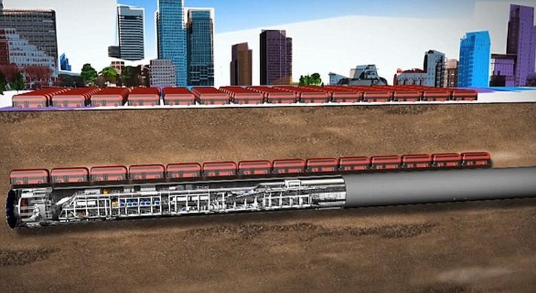 Boring Company получила разрешение бурить скоростные тоннели под Вашингтоном для трассы Hyperloop