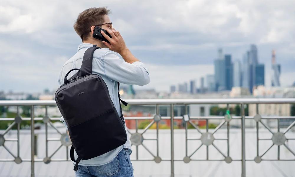 Новинки от Pacsafe для города: рюкзаки Intasafe X и Intasafe X Slim