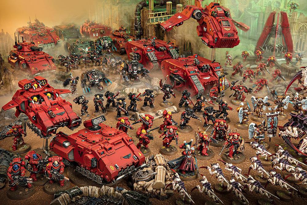Warhammer 40 000 - настольная варгейм-игра