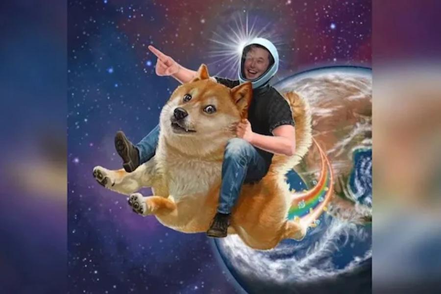 Илон Маск в прямом смысле запустит Dogecoin на Луну