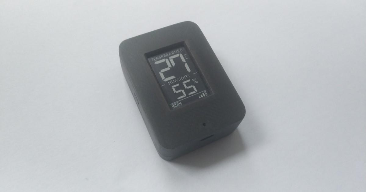 Мини Термометр amp гигрометр с E-PAPER на nRF52  или о том, что пока не выпустили производители