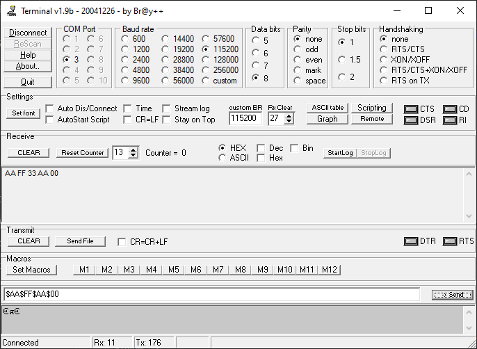Отладка микроконтроллеров ARM Cortex-M по UART Часть 2