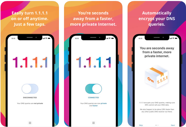 DNS Over TLS & Over HTTPS is now also on iOS /Android and for all networks at once[Спасибо Cloudflare]