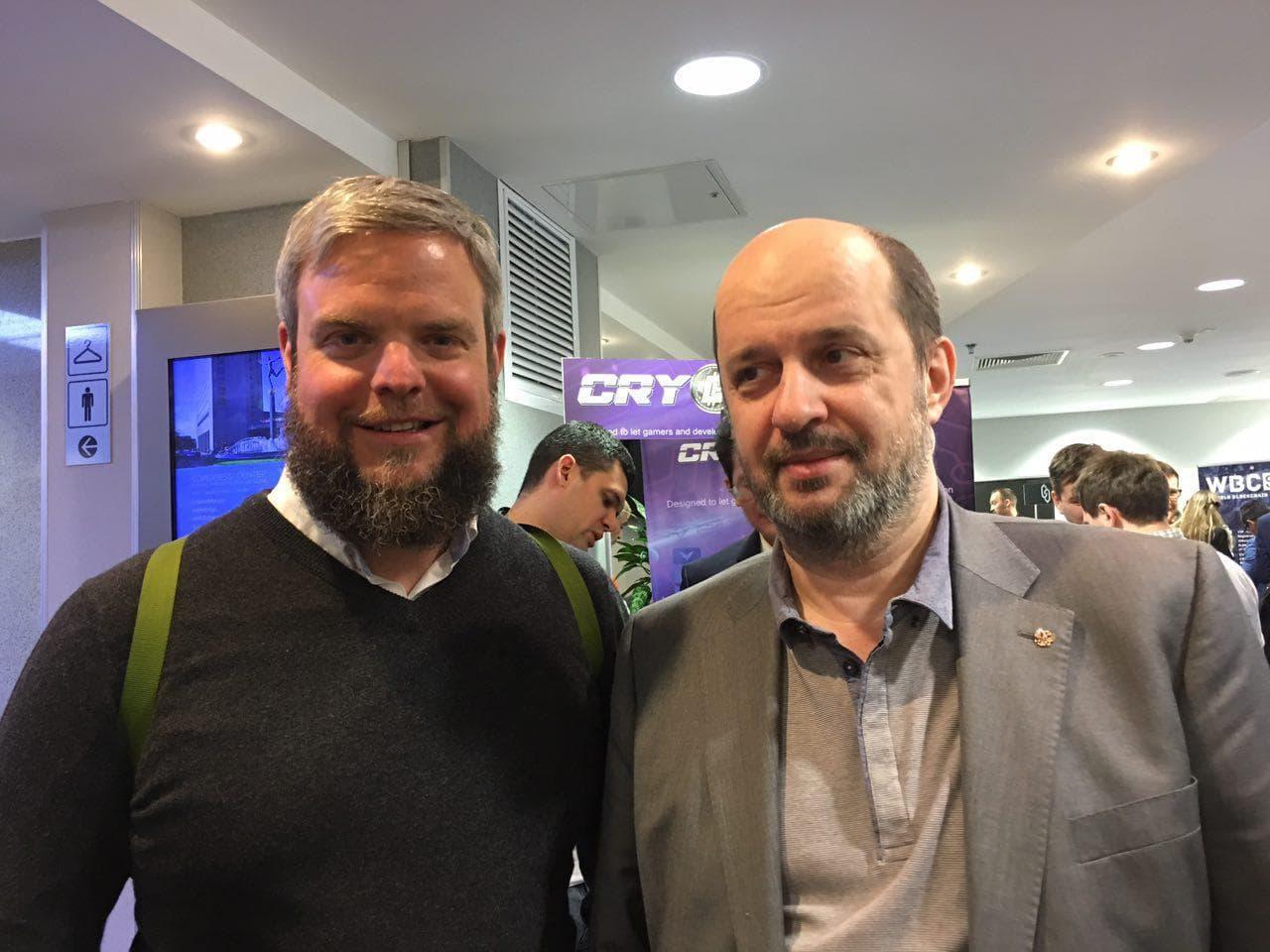 Б. Акимов о BioCoin на форуме World Blockchain&Cryptocuttency Summit